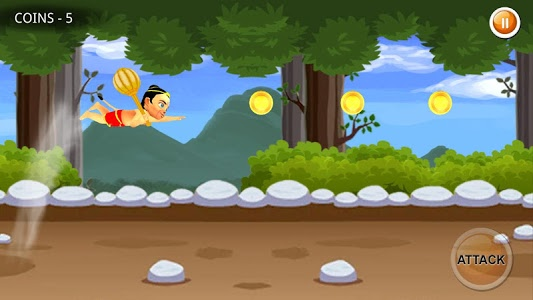 screenshot of The Adventures of Hanuman version 1.5