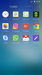 screenshot of Theme for Samsung Galaxy version 1.1.19