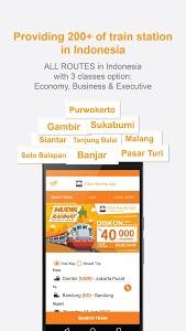 screenshot of Tiket Kereta Api - Tiket KAI version 1.4.2