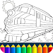 Download Train game: coloring book for kids  APK