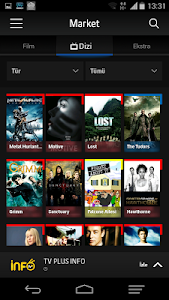 screenshot of Turkcell TV+ version 3.13.4