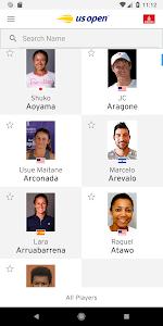 screenshot of US Open Tennis Championships2018 version 7.13