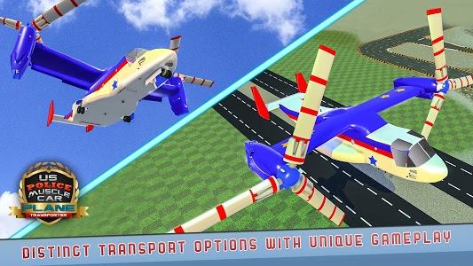 Download US Police Muscle Car Cargo Plane Flight Simulator 2.0.4 APK