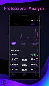 screenshot of WhatzTrack - Whatapp Online Last Seen version 1.2