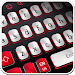 Download White And Red Simple Keyboard 10001007 APK
