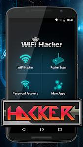 screenshot of Wifi Password Hacker Prank version 2.0