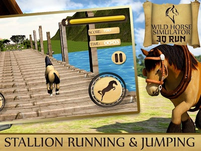 Download Wild Horse Simulator- 3D Run 1.9 APK