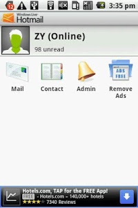 Download Windows Live Hotmail PUSH mail 1.02.00 APK