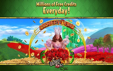 screenshot of Wizard of Oz Free Slots Casino version 88.0.1962