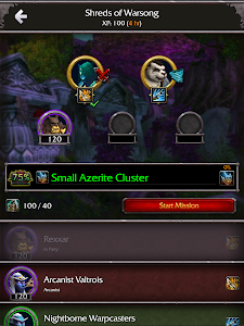 screenshot of WoW Companion App version 2.1.28649