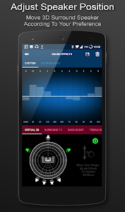 screenshot of 3D Surround Music Player version 1.6.77