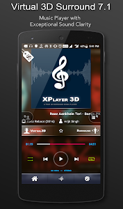 screenshot of 3D Surround Music Player version 1.6.75