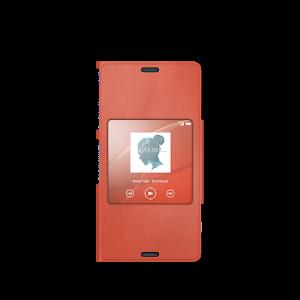screenshot of XPERIA™ Theme: Orange version 1.0.A.0.0