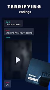 screenshot of Yarn - Chat Fiction version 5.0.2