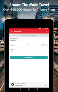 screenshot of Yatra - Flights, Hotels, Bus, Trains & Cabs version 13.0.40