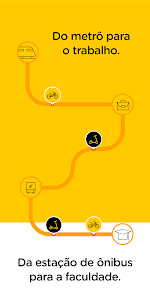 screenshot of Yellow - Scooter and Bike sharing version 1.6.2
