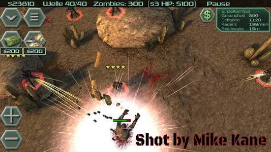 screenshot of Zombie Defense version 12.3.1