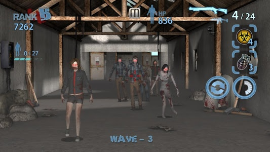 screenshot of Zombie Hunter King version 1.0.15