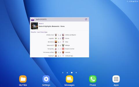 screenshot of beIN SPORTS version 4.10.2