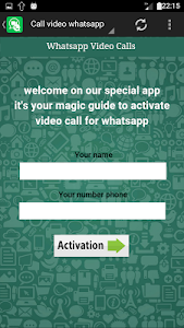 Download call video for whatsapp Prank 2.2 APK