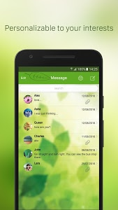 screenshot of iMessenger: Messenger OS9 version 10.0