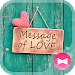 Download icon&wallpaper-Message of Love 1.0.1 APK