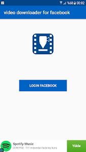 Download video downloader for facebook 1.2 APK