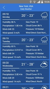 Download weather app 7.2 APK